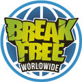 break free globe logo 120